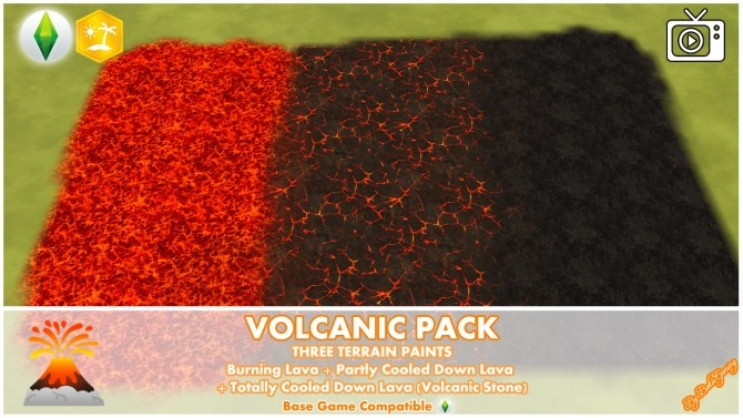 Volcanic Mod Pack by Bakie at Mod The Sims image 693 670x377 Sims 4 Updates