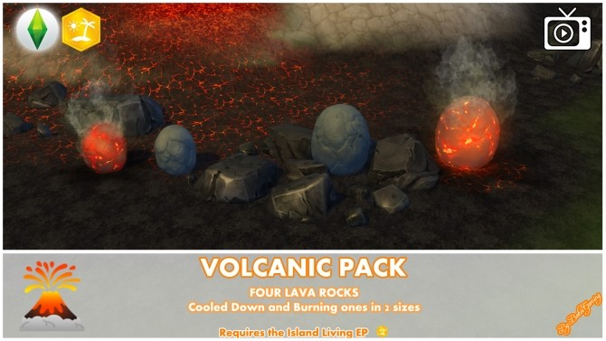 Volcanic Mod Pack by Bakie at Mod The Sims image 703 670x377 Sims 4 Updates