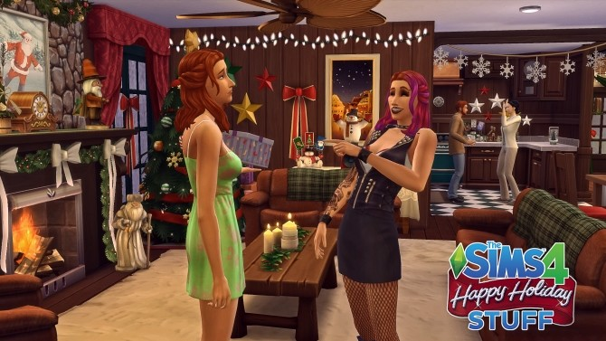 Happy Holiday Stuff! by simsi45 at Mod The Sims image 707 670x377 Sims 4 Updates
