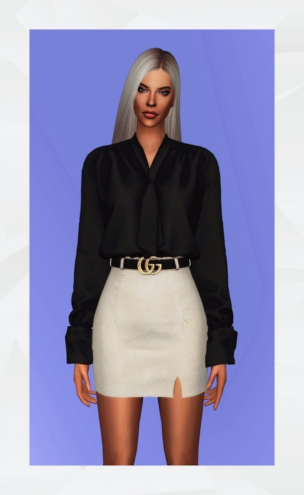 Hypno Blouse at Gorilla image 7081 615x1000 Sims 4 Updates