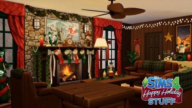 Sims 4 Happy Holiday Stuff! by simsi45 at Mod The Sims