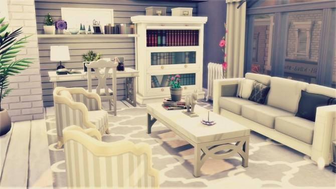 Little White/Grey Loft at Agathea k image 721 670x377 Sims 4 Updates