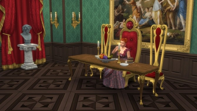 Sims 4 Throne of Light by TheJim07 at Mod The Sims