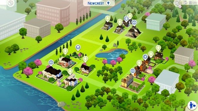 Newcrest Campus by wouterfan at Mod The Sims image 7616 670x378 Sims 4 Updates