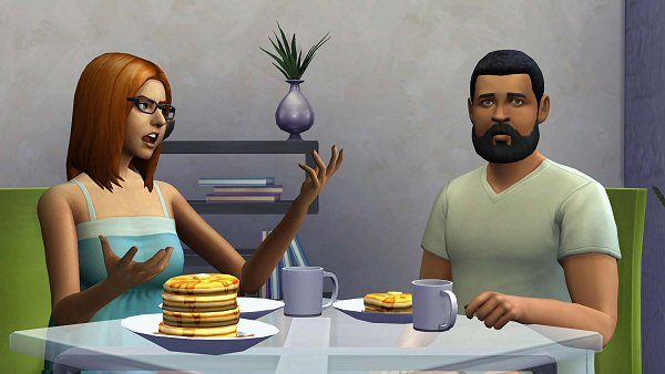 Sims 4 Eat at tables by WaShay at Mod The Sims