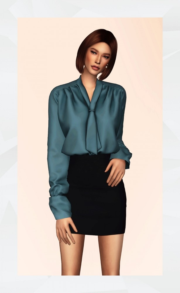 Hypno Blouse at Gorilla image 7715 615x1000 Sims 4 Updates