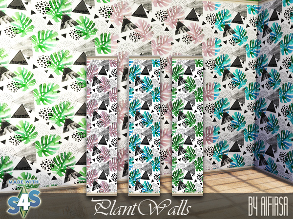 Plant walls at Aifirsa image 7811 Sims 4 Updates