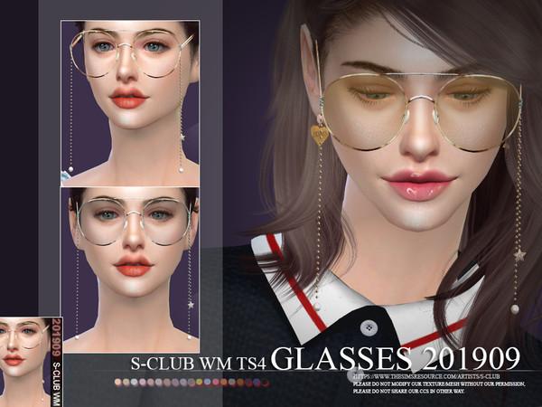 Sims 4 Glasses 201909 by S Club WM at TSR