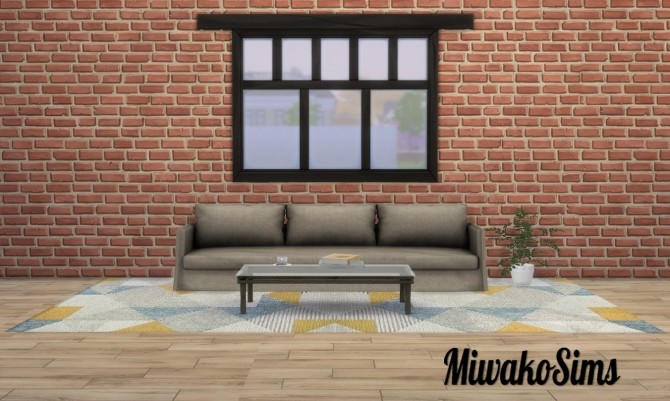 Sims 4 Collection #5 rugs at MiwakoSims