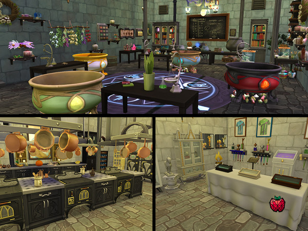 HERA school of magic by melapples at TSR image 848 Sims 4 Updates