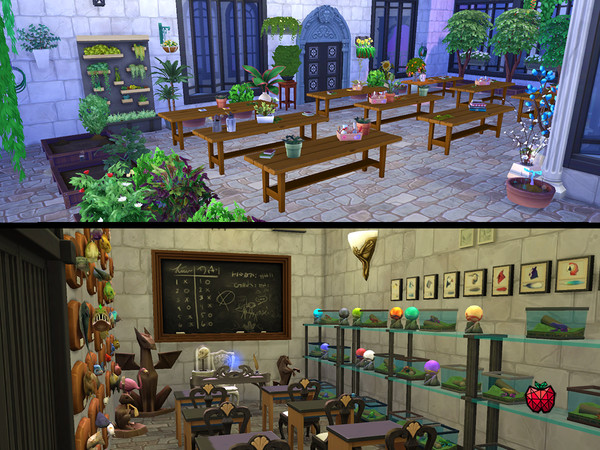 HERA school of magic by melapples at TSR image 858 Sims 4 Updates