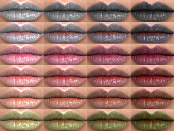 Sims 4 Jam Lipstick 08 HQ by Alf si at TSR