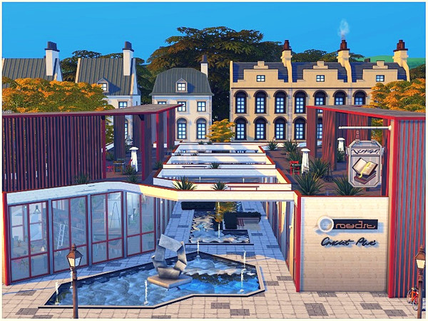 BRIGHT FUTURE LIBRARY by lotsbymanal at TSR image 87 Sims 4 Updates