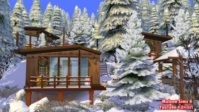 House for friends at Sims by Mulena image 9211 670x376 Sims 4 Updates