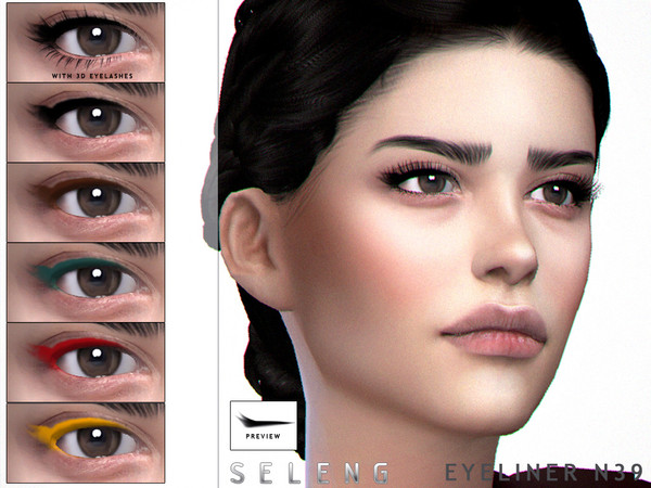 Eyeliner N39 by Seleng at TSR image 9215 Sims 4 Updates