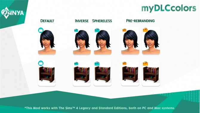 myDLCcolors by onnyasimr at Mod The Sims image 9312 670x380 Sims 4 Updates
