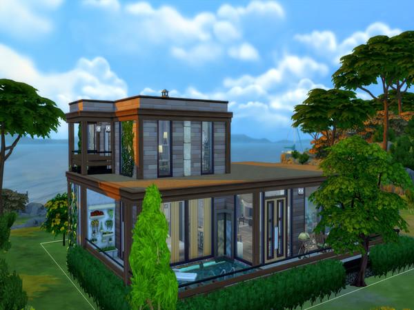 Modern Retreat by LJaneP6 at TSR image 9313 Sims 4 Updates