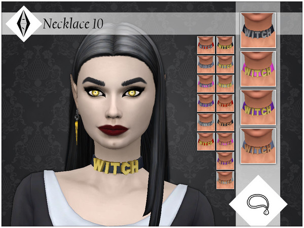 Sims 4 Necklace 10 by AleNikSimmer at TSR