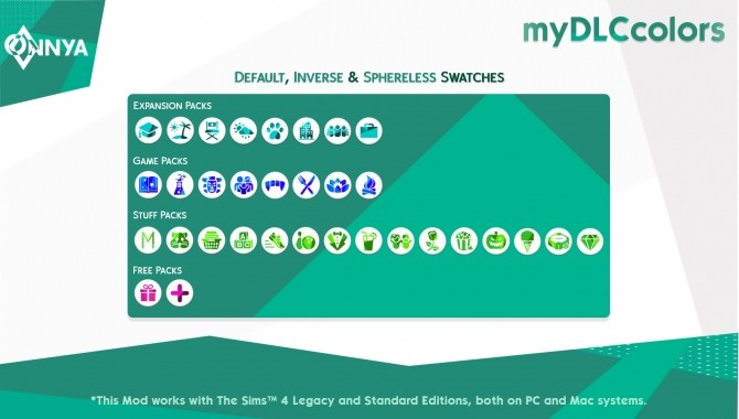 myDLCcolors by onnyasimr at Mod The Sims image 9410 670x380 Sims 4 Updates
