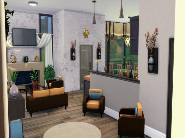Modern Retreat by LJaneP6 at TSR image 9411 Sims 4 Updates