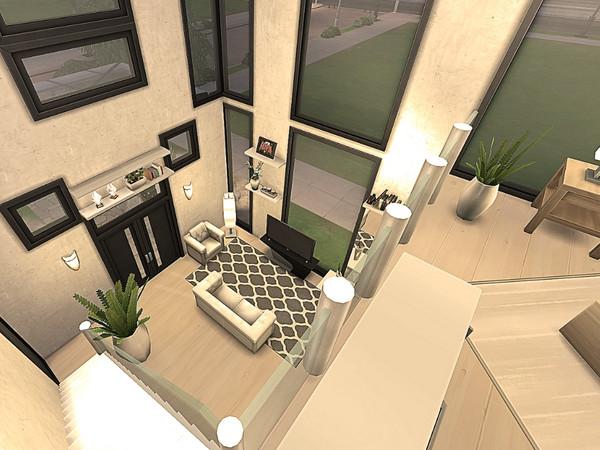 Sims 4 Freelancer Basegame House by Sarina Sims at TSR