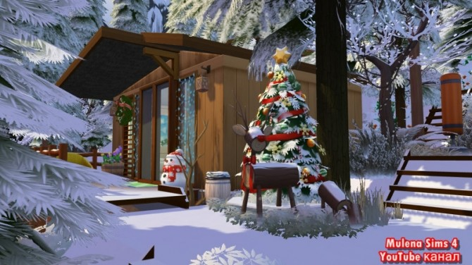House for friends at Sims by Mulena image 948 670x376 Sims 4 Updates