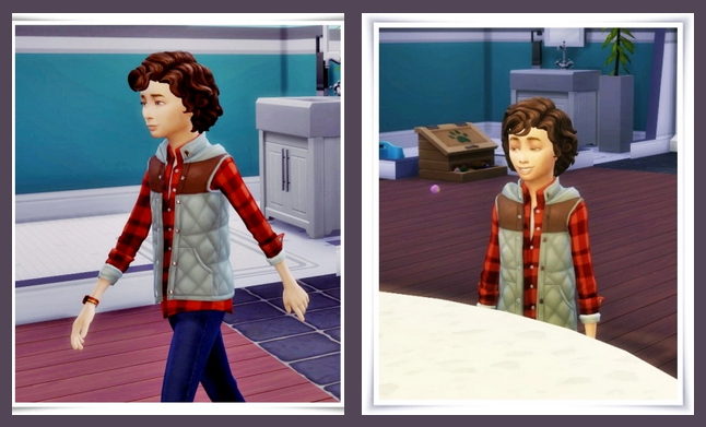 Sims 4 Dodo Hair Kids version at Birksches Sims Blog