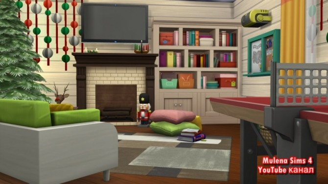 House for friends at Sims by Mulena image 989 670x376 Sims 4 Updates