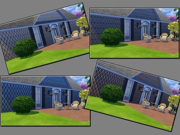 Sims 4 MB Solid Siding Crossed Over by matomibotaki at TSR