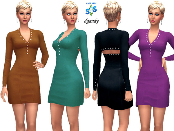 Sims 4 Dress 20200117 by dgandy at TSR