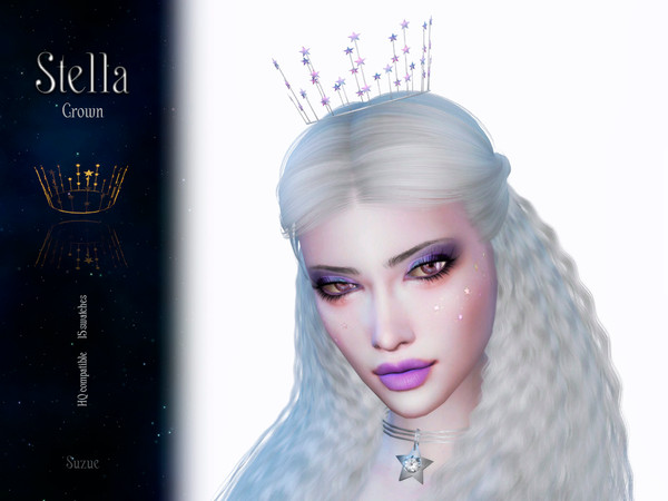 Stella Crown by Suzue at TSR image 1032 Sims 4 Updates