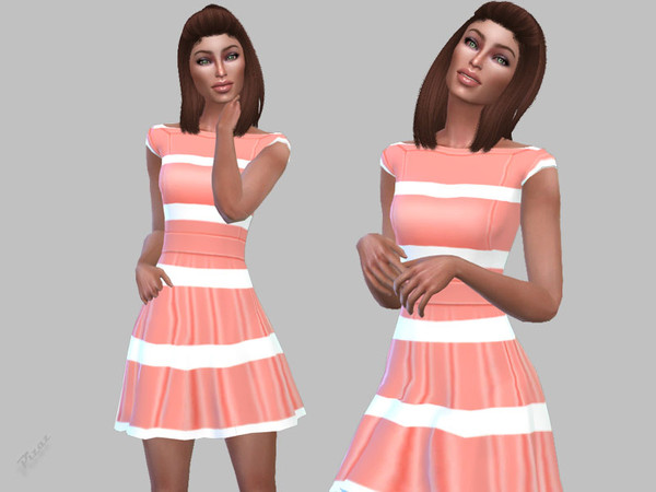 Sims 4 Club Dress 024 by pizazz at TSR
