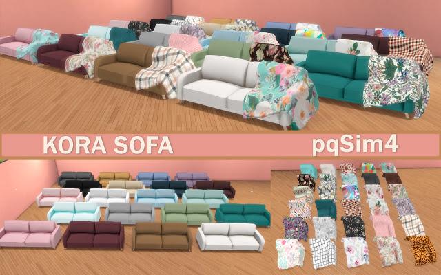Kora Sofa at pqSims4 image 1038 Sims 4 Updates