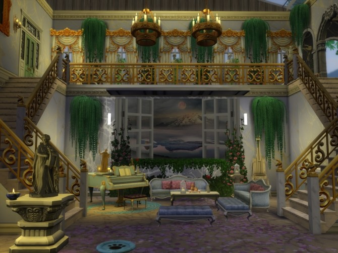 Sims 4 Sets Of Wall Murals at Anna Quinn Stories