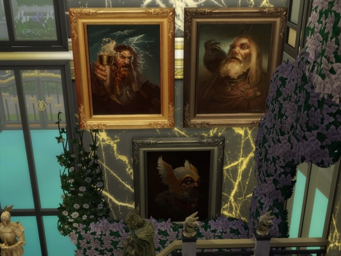 Sims 4 Another Set Of Art   Mix Of Everything at Anna Quinn Stories