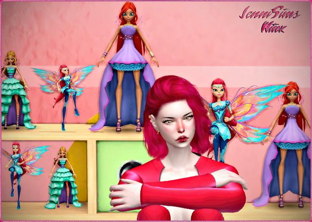 Sims 4 Decorative Winx Club at Jenni Sims