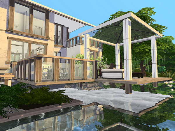 Rustic Modern Home by Sarina Sims at TSR image 11105 Sims 4 Updates