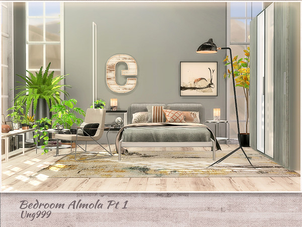 Bedroom Amola Part 1 by ung999 at TSR image 11115 Sims 4 Updates