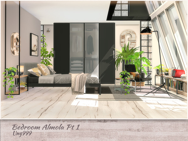 Bedroom Amola Part 1 by ung999 at TSR image 11312 Sims 4 Updates