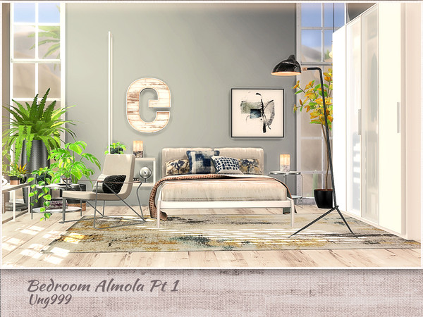 Bedroom Amola Part 1 by ung999 at TSR image 11411 Sims 4 Updates