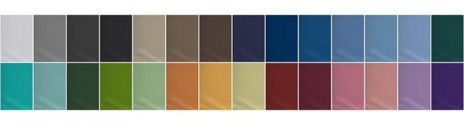 Sims 4 Basic Sleeveless T Shirt II Solid at Rusty Nail