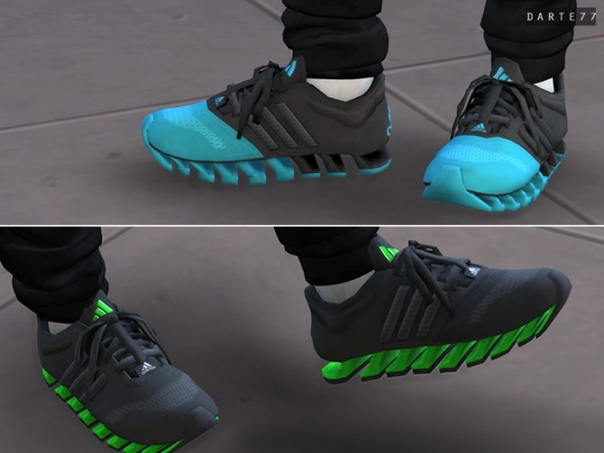 Springblade Running Sneakers (P) at Darte77 image 11417 670x503 Sims 4 Updates