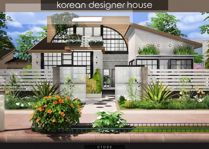 Korean Designer House at Cross Design image 1151 670x479 Sims 4 Updates