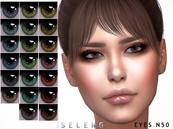 Sims 4 Eyes N50 by Seleng at TSR