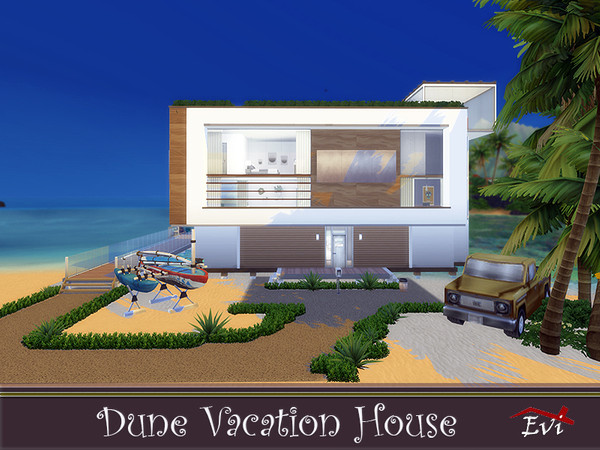 Dune Vacation House by evi at TSR image 1157 Sims 4 Updates