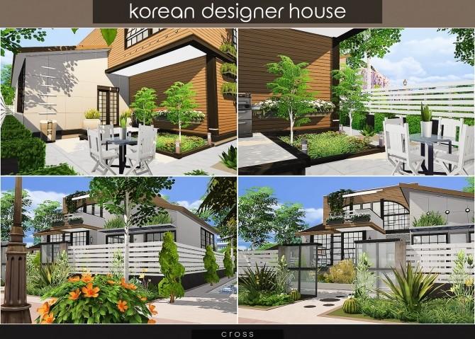 Korean Designer House at Cross Design image 1161 670x479 Sims 4 Updates