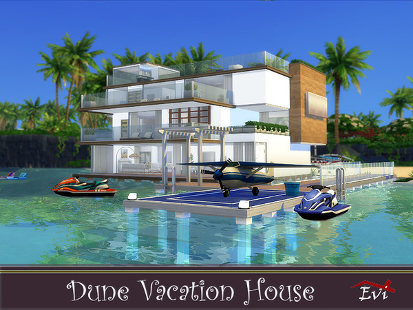 Dune Vacation House by evi at TSR image 1167 Sims 4 Updates