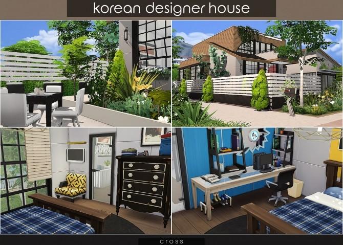 Korean Designer House at Cross Design image 1171 670x479 Sims 4 Updates