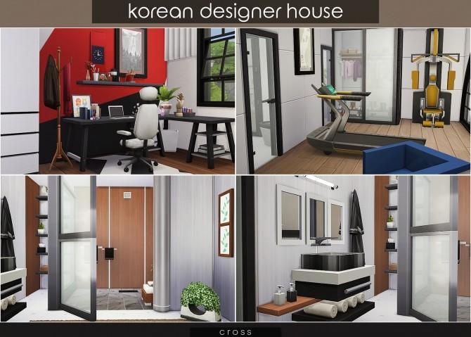 Korean Designer House at Cross Design image 1191 670x479 Sims 4 Updates