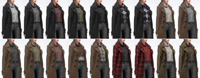 Long Coat with Turtleneck Sweater (P) at Darte77 image 11916 670x261 Sims 4 Updates